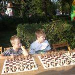 turniej szachowy w plenerze